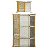 Bettwäsche Afrika 140/200cm Gelb - Gelb, MODERN, Textil - Luca Bessoni
