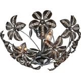 Hängeleuchte Kaunos,ø 40 cm - Grau, MODERN, Kunststoff/Metall (40/19cm)