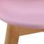 Detská Stolička Tibby - ružová, Moderný, umelá hmota/drevo (30/56,5/32,5cm) - Mömax modern living