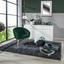 Relaxační Křeslo Jannis - tmavě zelená, Lifestyle, textil (73/73/66cm)