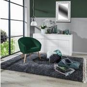 Relaxsessel Jannis - Dunkelgrün/Naturfarben, LIFESTYLE, Textil (73/73/66cm)