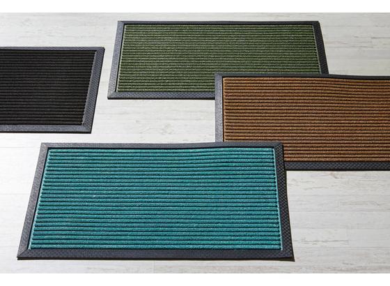 Rohožka Ingo 1 - hnedá/čierna, Moderný, plast (40/60cm) - Mömax modern living