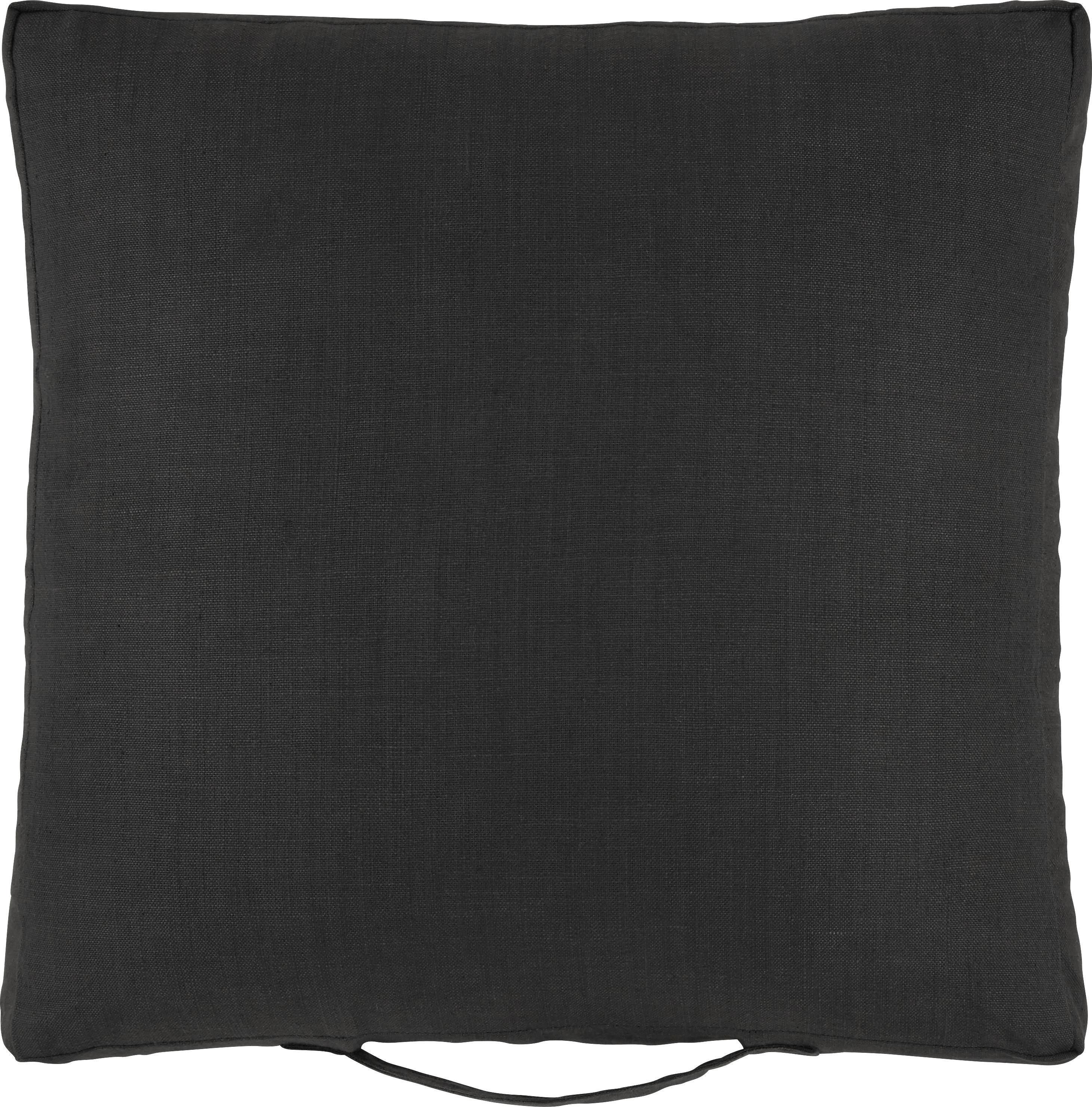 Polštář Urban - černá, Moderní, textil (45/45/5cm) - MÖMAX modern living