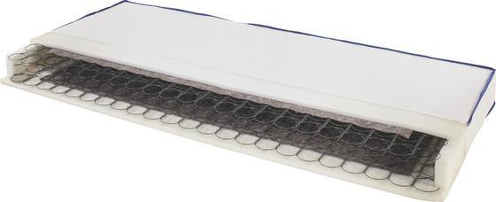 Federkernmatratze Coppy H2 90x200 - Weiß, Textil (90/200cm) - Primatex