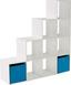 Deliaca Stena Pisa 6 - biela, Moderný, kompozitné drevo (149 150 35cm)