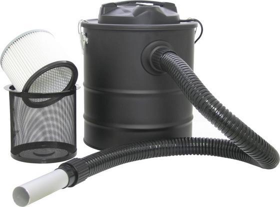Aschesauger Per 20 Liter 1200 Watt - Schwarz, Kunststoff/Metall (32/39cm)