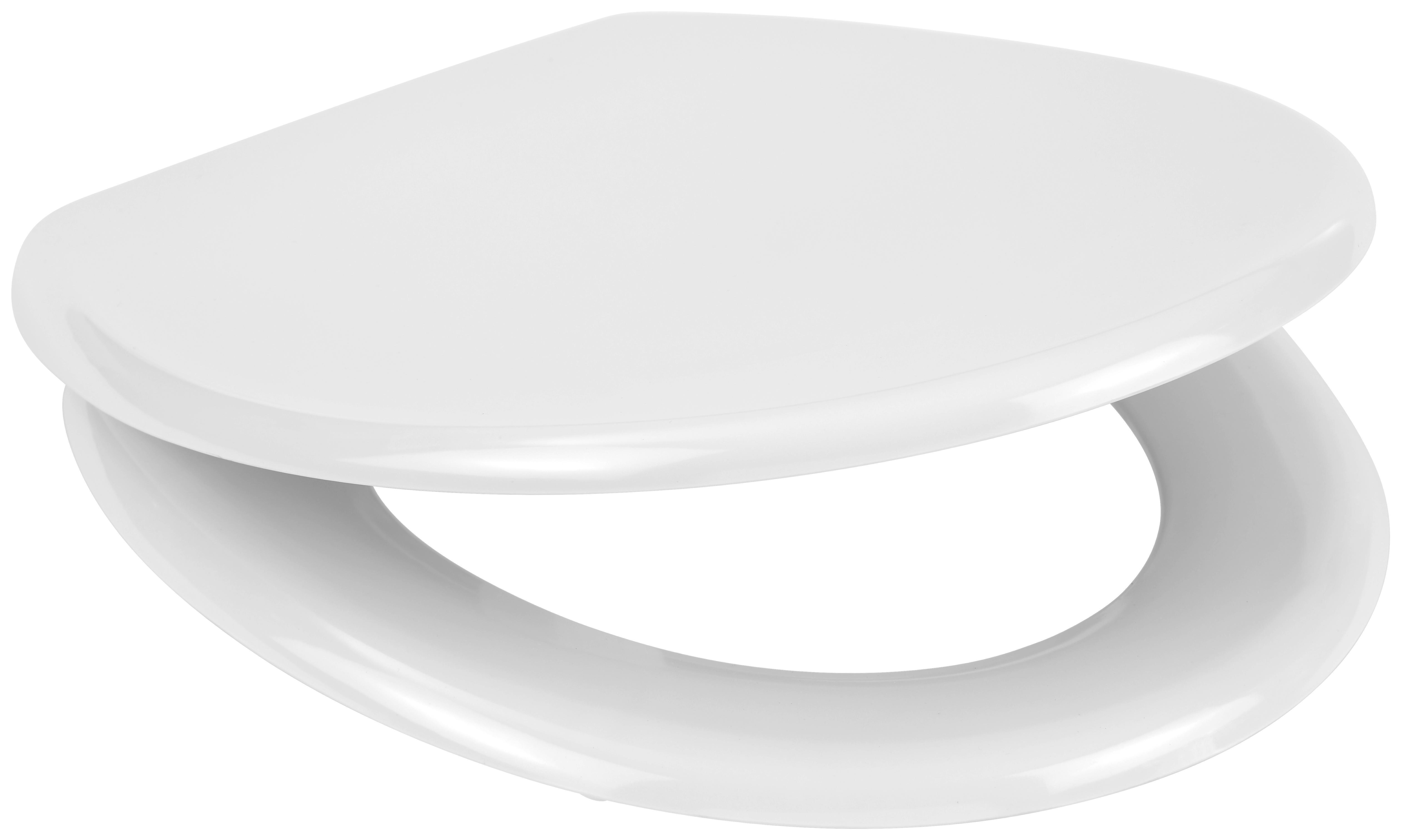Duroplast WC Toilettendeckel Klodeckel Toilettensitz Absenkautomatik London Str.