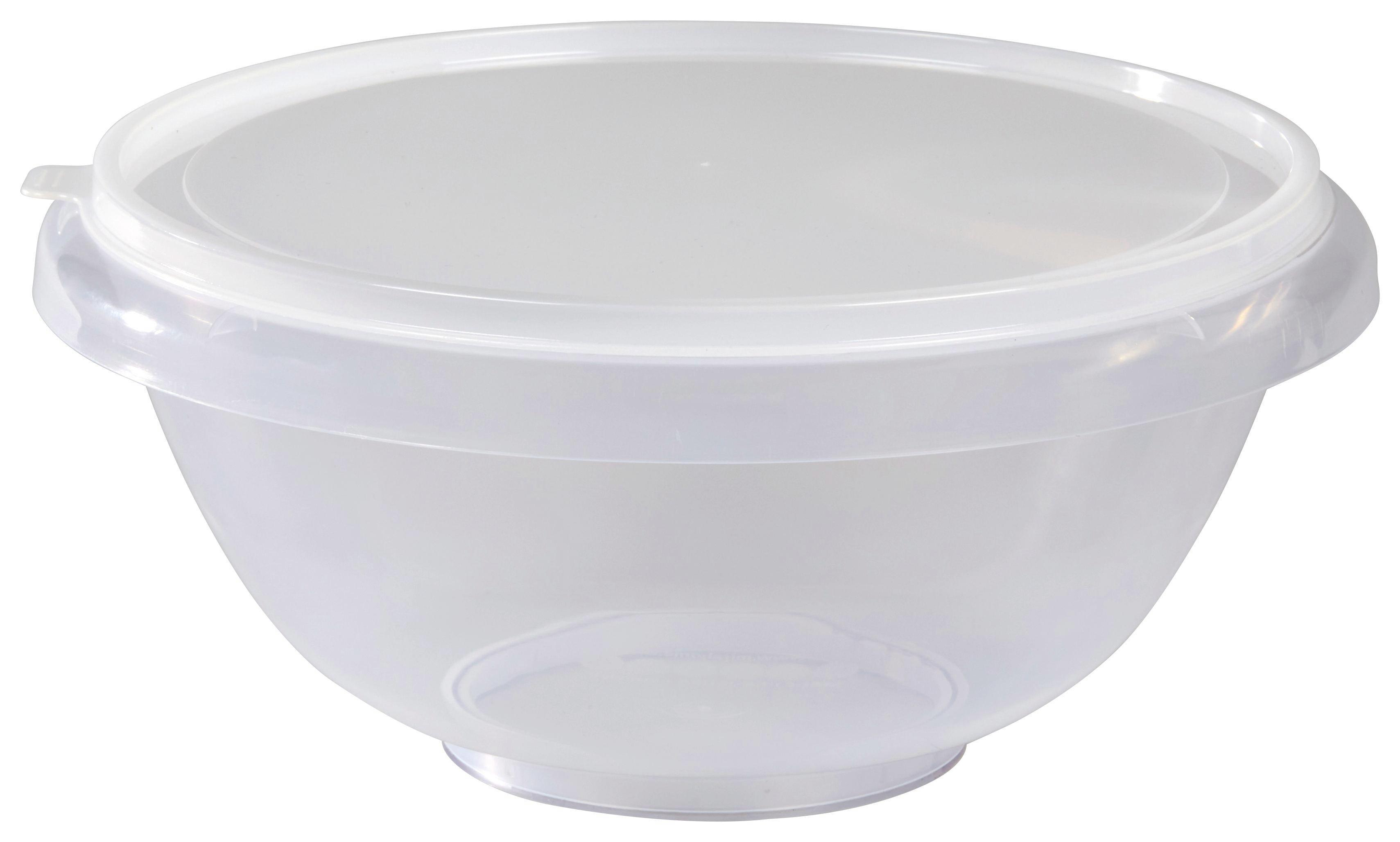 Tál Műanyag - natúr színek/piros, konvencionális, műanyag (32/15.3cm)