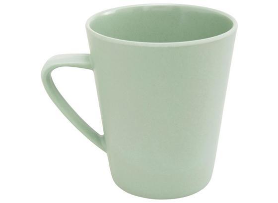 Hrnček Na Kávu Anabel - mátově zelená, Natur, přírodní materiály/umělá hmota (8,5/9,5cm) - Zandiara