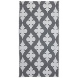 Venkovní Koberec Club - bílá/šedá, Moderní, textil (70/140cm) - Mömax modern living