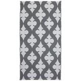 Venkovní Koberec Club - bílá/šedá, Moderní, textil (70/140cm)