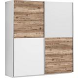 Skříň S Posuvnými Dveřmi Express - bílá/šedá, Lifestyle, kov/kompozitní dřevo (170/191/61cm)