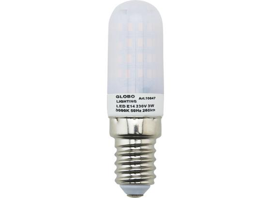 Žárovka 10647 - barvy stříbra/opál (1,9/6,4cm)