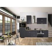 Küchenblock G280-2321-000-shadow - Eichefarben/Grau, MODERN, Holzwerkstoff (280cm)