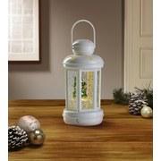 LED-Dekoleuchte Leny - Weiß, ROMANTIK / LANDHAUS, Metall (10/20cm) - James Wood
