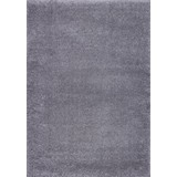 Hochflorteppich Galaxy 80/150 - Hellgrau, MODERN, Textil (80/150cm)