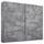 Schwebetürenschrank Belluno B:226cm Stone Grey Dekor - Grau, MODERN, Holzwerkstoff (226/210/62cm)