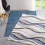Tkaný Koberec Bill 2 - modrá, Moderný, textil (120/170cm) - Mömax modern living