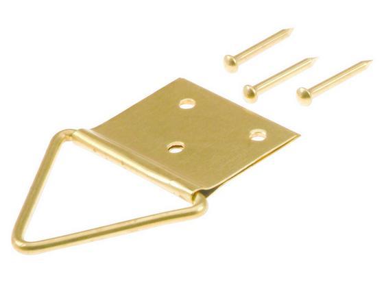 Klappöse B/L: ca. 2,3/4 cm - Goldfarben, Metall (2,3/4cm) - Suki
