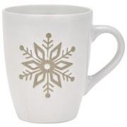 Kaffeebecher Tadeo Inhalt ca. 380 ml - Braun/Weiß, MODERN, Keramik (8,8/10,7cm) - Luca Bessoni