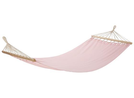 Hojdacia Sieť Relax - hnedá/ružová, drevo/textil (100/200cm) - Mömax modern living