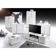 Kommode grifflos B 100cm Padua Light, Weiß - Weiß, Design, Holzwerkstoff (100/80/37cm) - MID.YOU