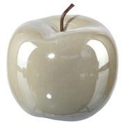 Dekofrucht Ø 15 cm - Grau, MODERN, Keramik (15/12,5cm)