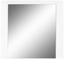 Spiegel Bree - Weiß, MODERN, Glas/Holzwerkstoff (85/80/2cm)