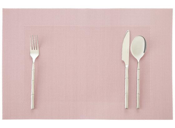 Prostírání Ralph - růžová/světle šedá, textil (45/30cm) - Mömax modern living