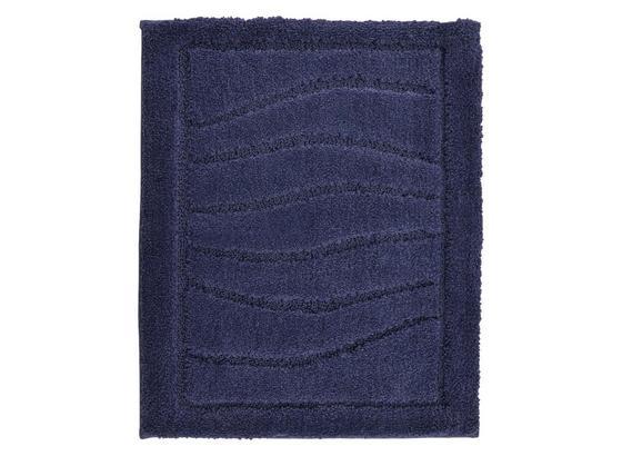 WC-Vorleger Lasse - Dunkelblau, ROMANTIK / LANDHAUS, Textil (50/60cm) - James Wood