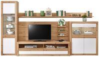 Doporučená Kombinace Kashmir New 3 - bílá/barvy dubu, Moderní, kompozitní dřevo (342/192/49cm) - James Wood