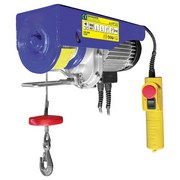 Elektro-Seilzug                                                                                                                                                                                                                                                 200/400 Kg 33253 - Blau, MODERN, Kunststoff/Metall (40/25/15,5cm) - Erba