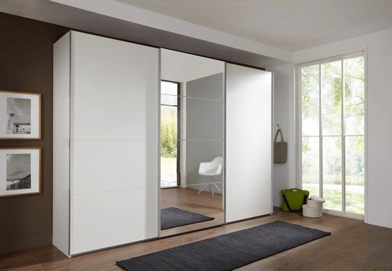 Skříň S Posuvnými Dveřmi Ernie - bílá, dřevo/dřevěný materiál (270/210/65cm)
