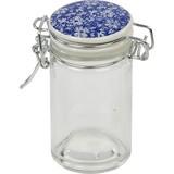 Vorratsglas mit Bügelveschluss - Blau, MODERN, Glas/Keramik (4,5/9cm)