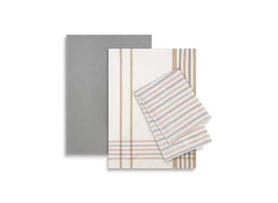 Sada Utierok Na Riad Erika 3-teilig - sivá/biela, textil (50/70cm) - Mömax modern living