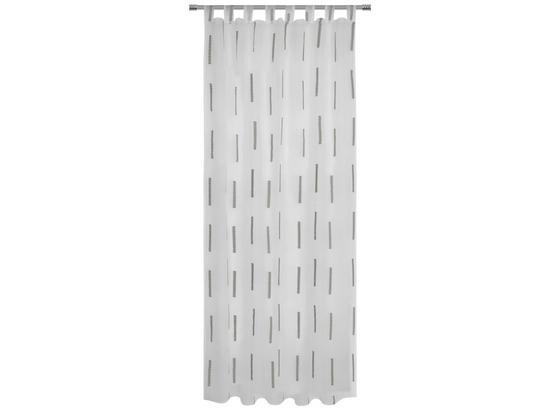 Kombivorhang Alexa - Grau, MODERN, Textil (140/255cm) - Luca Bessoni