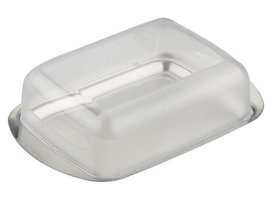 Dóza Na Maslo Buddy - transparentné/strieborná, plast (16,5/10,5cm) - Mömax modern living