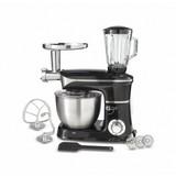 Küchenmaschine Minela - Schwarz, KONVENTIONELL, Kunststoff/Metall - Bono