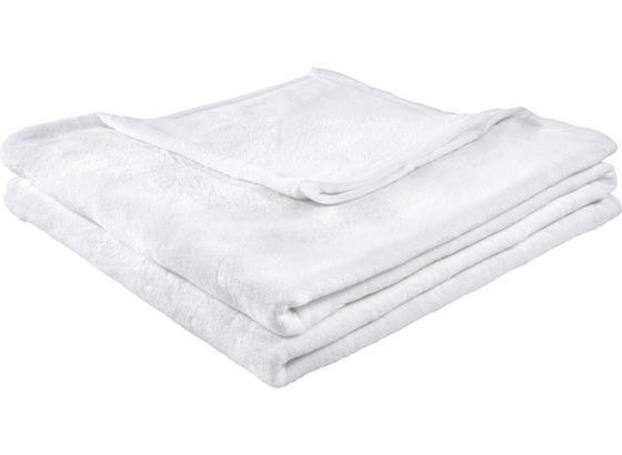 Měkká Deka Michael Xxl -top- - bílá, textil (220/240cm)