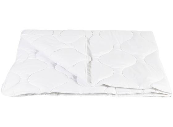 Steppdecke Tencel Sommerbett 140x200 cm - Weiß, Textil (140/200cm)