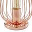 Stolová Lampa Dioder - medená, Štýlový, kov (12/23cm) - Mömax modern living