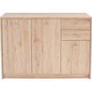 Komoda 4-you Yuk05 - barvy dubu, Moderní, dřevěný materiál (109,1/85,4/34,6cm)