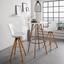 Barový Stôl Durham - prírodné farby/čierna, Moderný, kov/drevo (80/111cm) - Modern Living