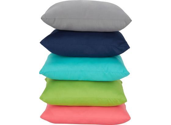Polštář Ozdobný Maxi -eö- - šedá/modrá, textil (40/40cm) - Mömax modern living