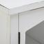 Komoda Florina - šedá/bílá, Moderní, kov/dřevo (100/78/34cm) - Modern Living