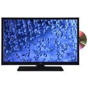 24 Zoll Fernseher Led 24.88 T2cs DVD - Schwarz, MODERN, Metall (56/38,3/13,4cm) - Silva Schneider