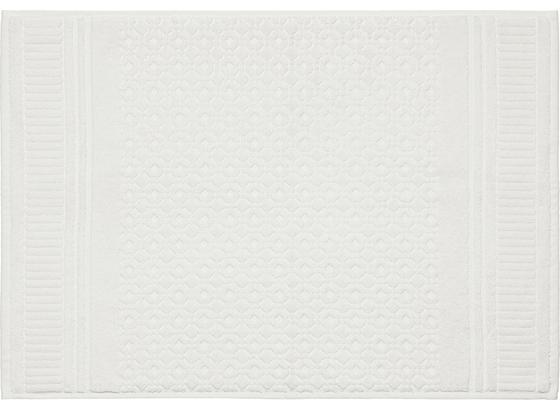 Předložka Koupelnová Carina - bílá, Romantický / Rustikální, textil (50/70cm) - Mömax modern living