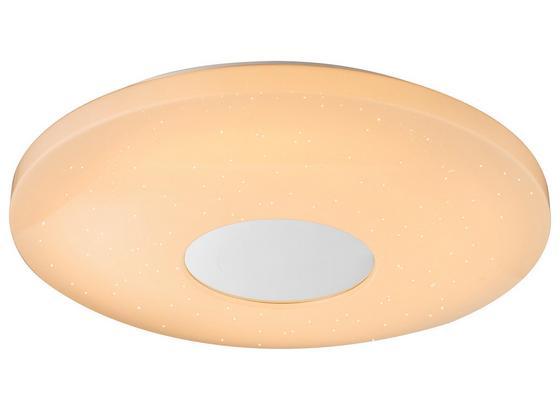 Led Stropná Lampa Betty Ø 44cm, 24 Watt - biela, Moderný, kov/plast (44/7cm) - Mömax modern living