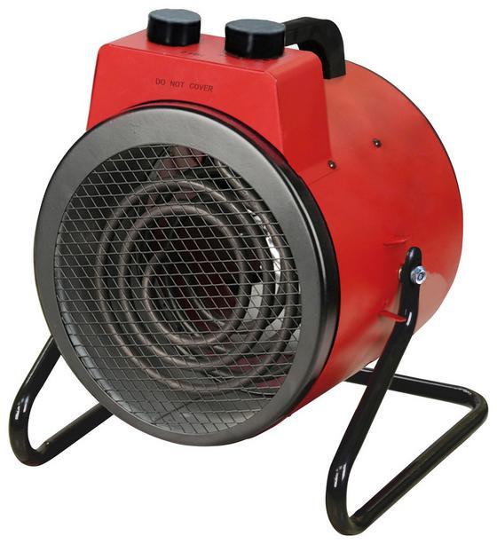 Ohrievač S Ventilátorom Rexi - čierna/červená, Moderný, kov (26/23/32cm)