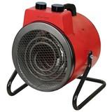 Ohřívač S Ventilátorem Rexi - černá/červená, Moderní, kov (26/23/32cm)